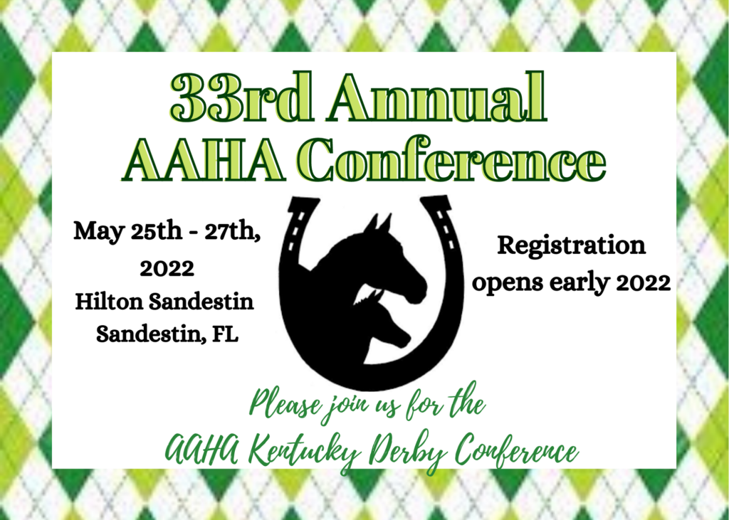 33rd Annual AAHA Conference